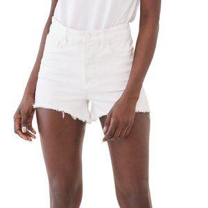 ❤️3/$25 PAIGE White Fringe Hem Jimmy Jean Shorts